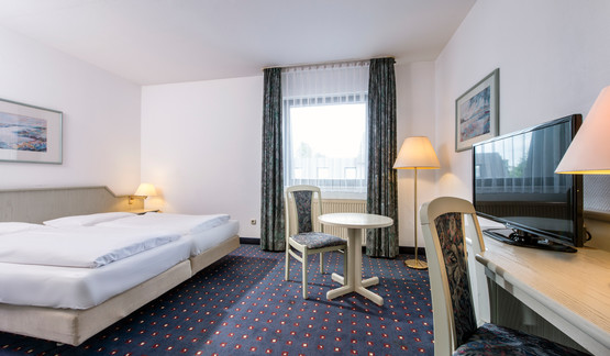 Large business double room in Wyndham Garden Mettmann hotel | © Wyndham Garden Düsseldorf Mettmann